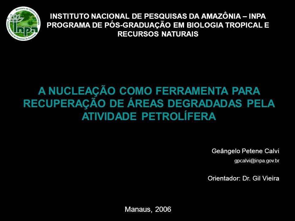 INSTITUTO NACIONAL DE PESQUISAS DA AMAZÔNIA – INPA PROGRAMA DE PÓS-GRADUAÇÃO EM BIOLOGIA TROPICAL E RECURSOS NATURAIS