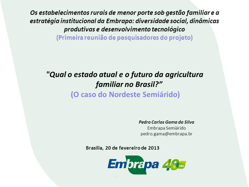 Qual o estado atual e o futuro da agricultura familiar no Brasil