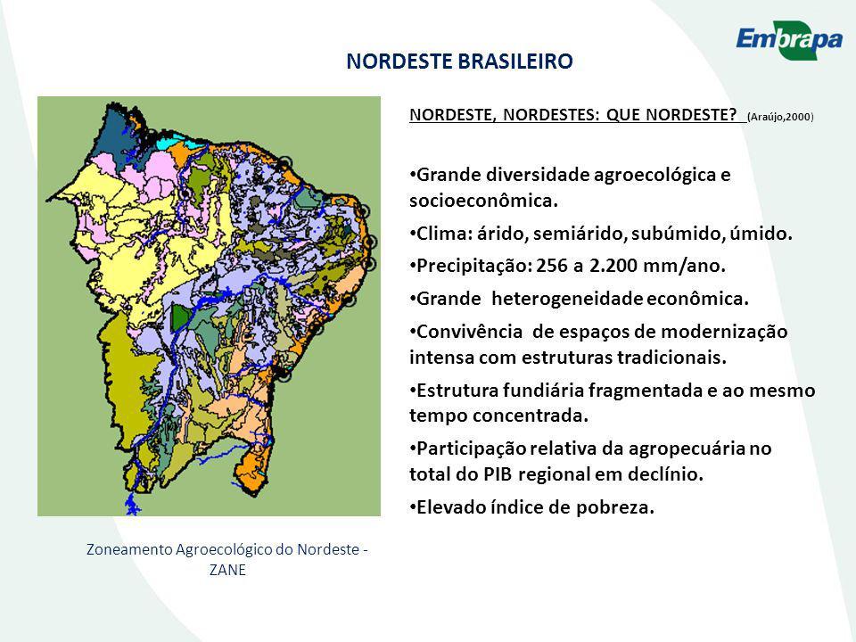 Zoneamento Agroecológico do Nordeste - ZANE