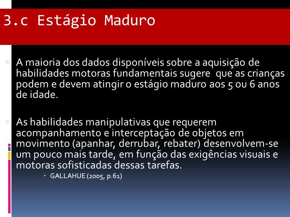 3.c Estágio Maduro