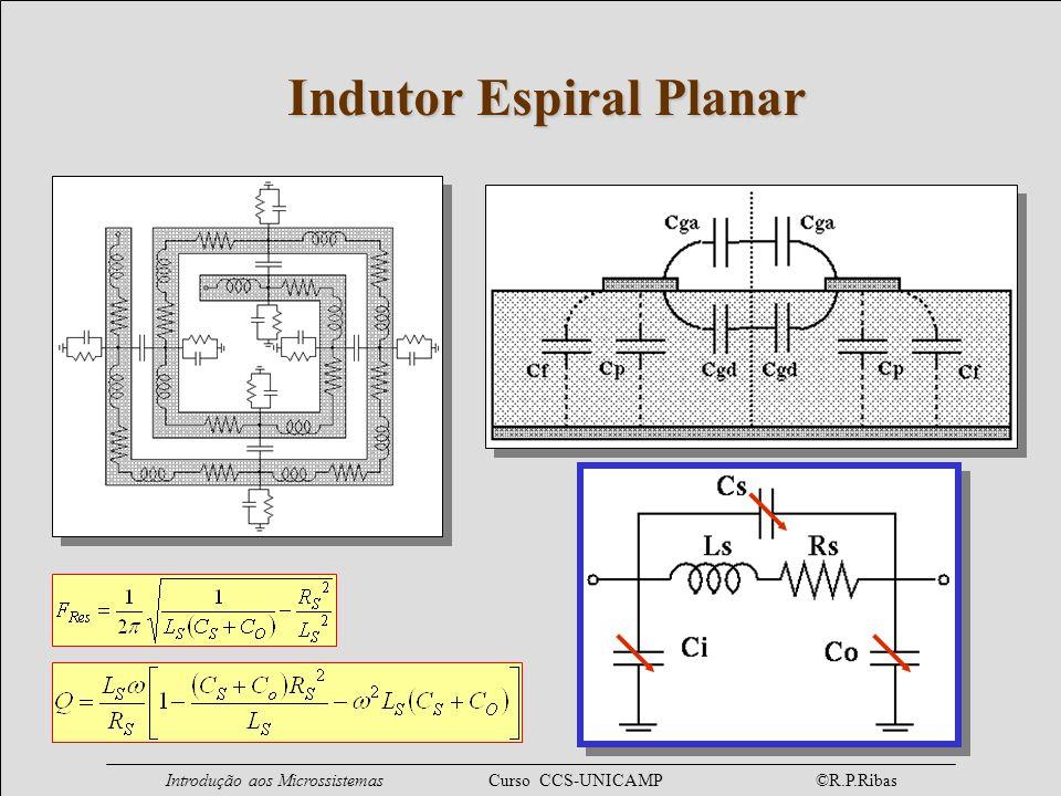 Indutor Espiral Planar