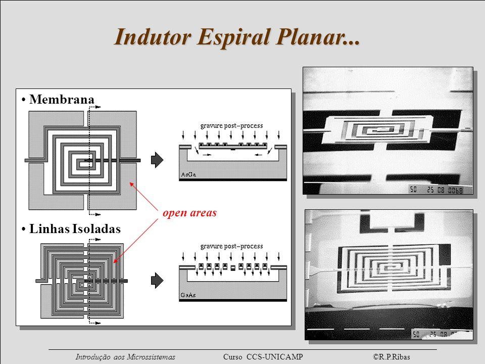 Indutor Espiral Planar...