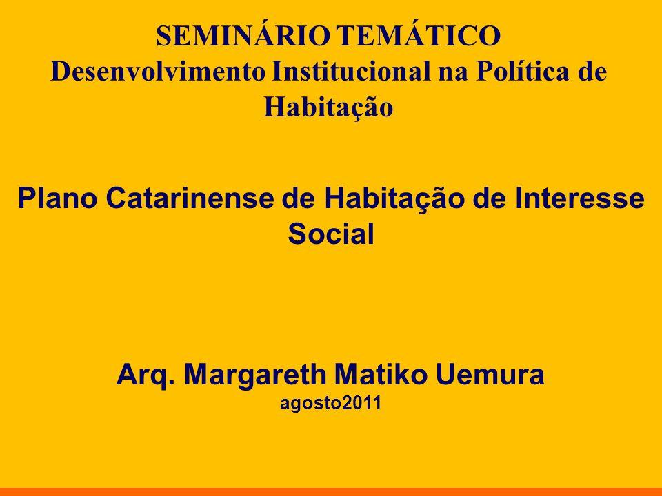 Plano Catarinense de Habitação de Interesse Social