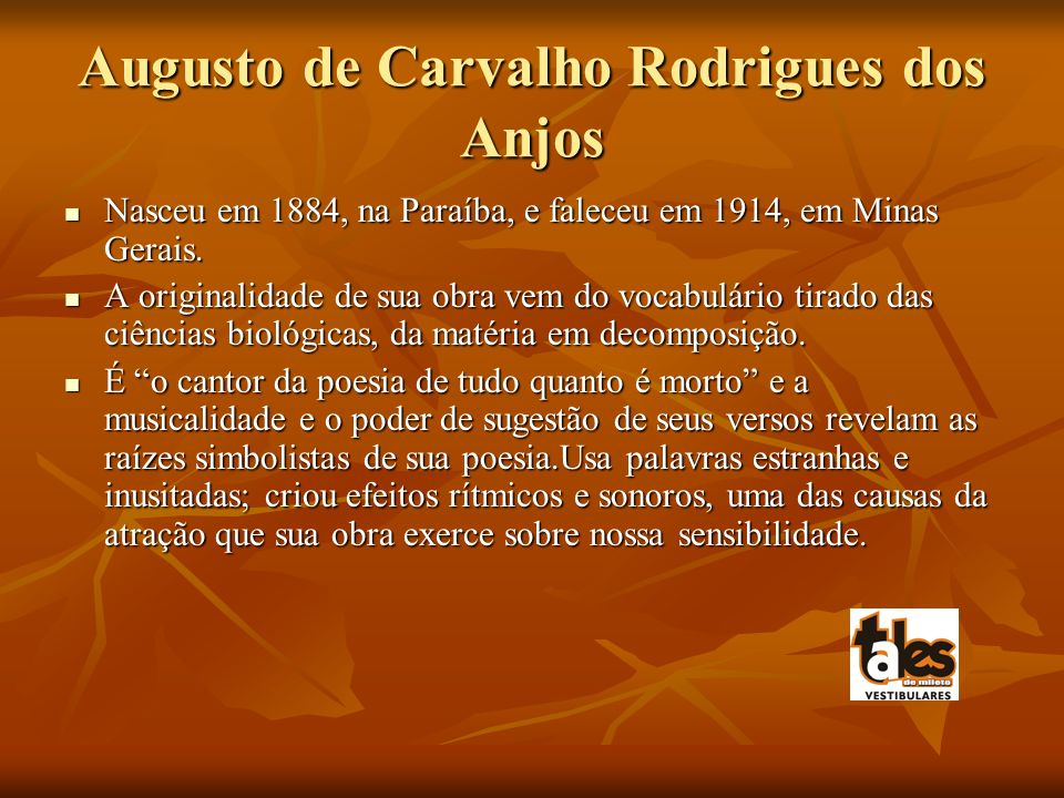 Augusto de Carvalho Rodrigues dos Anjos