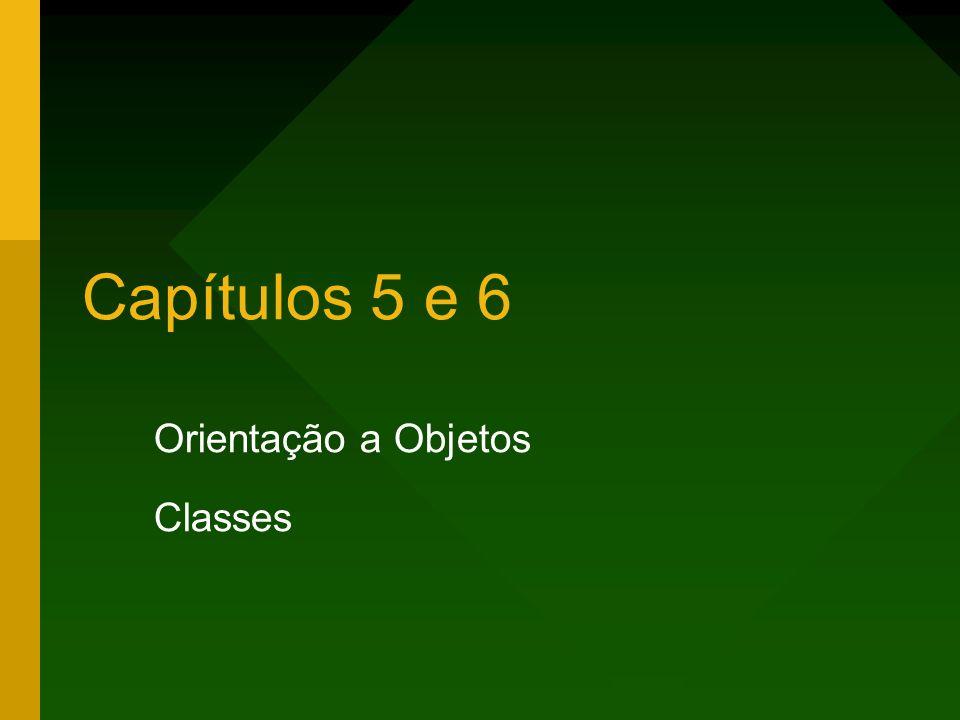 Orientação a Objetos Classes