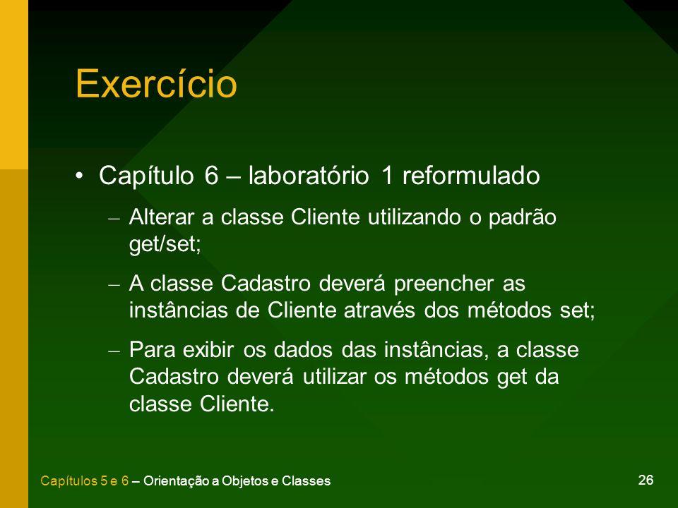Exercício Capítulo 6 – laboratório 1 reformulado