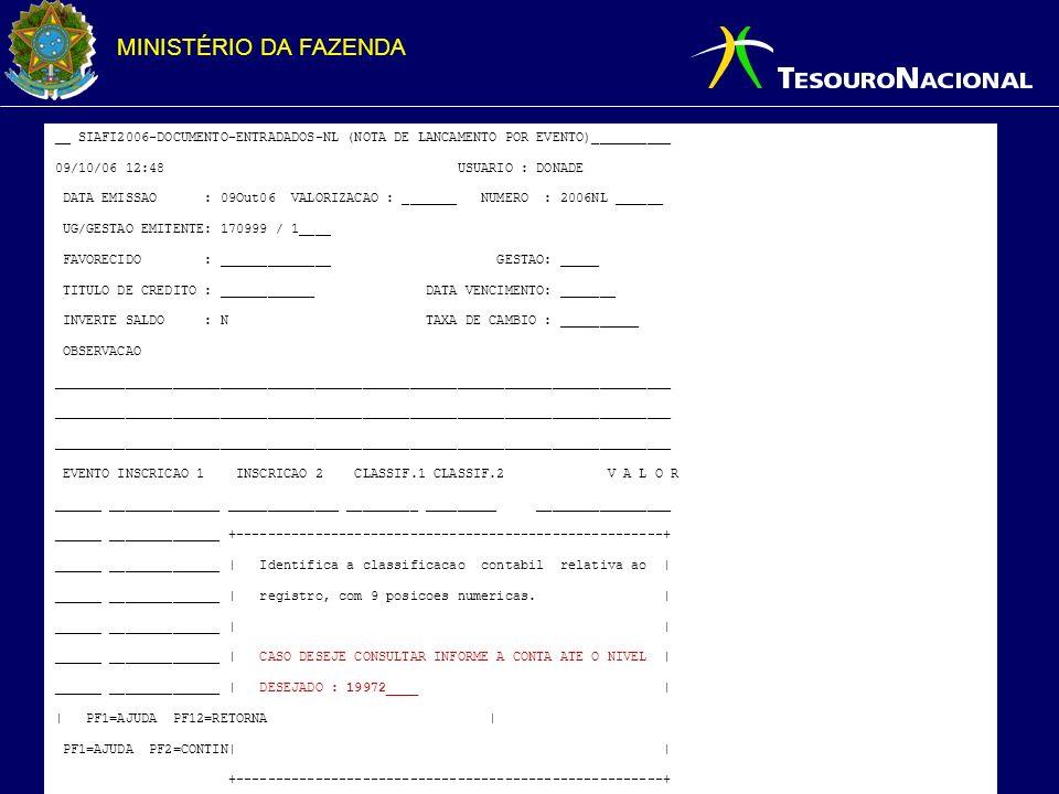 __ SIAFI2006-DOCUMENTO-ENTRADADOS-NL (NOTA DE LANCAMENTO POR EVENTO)__________