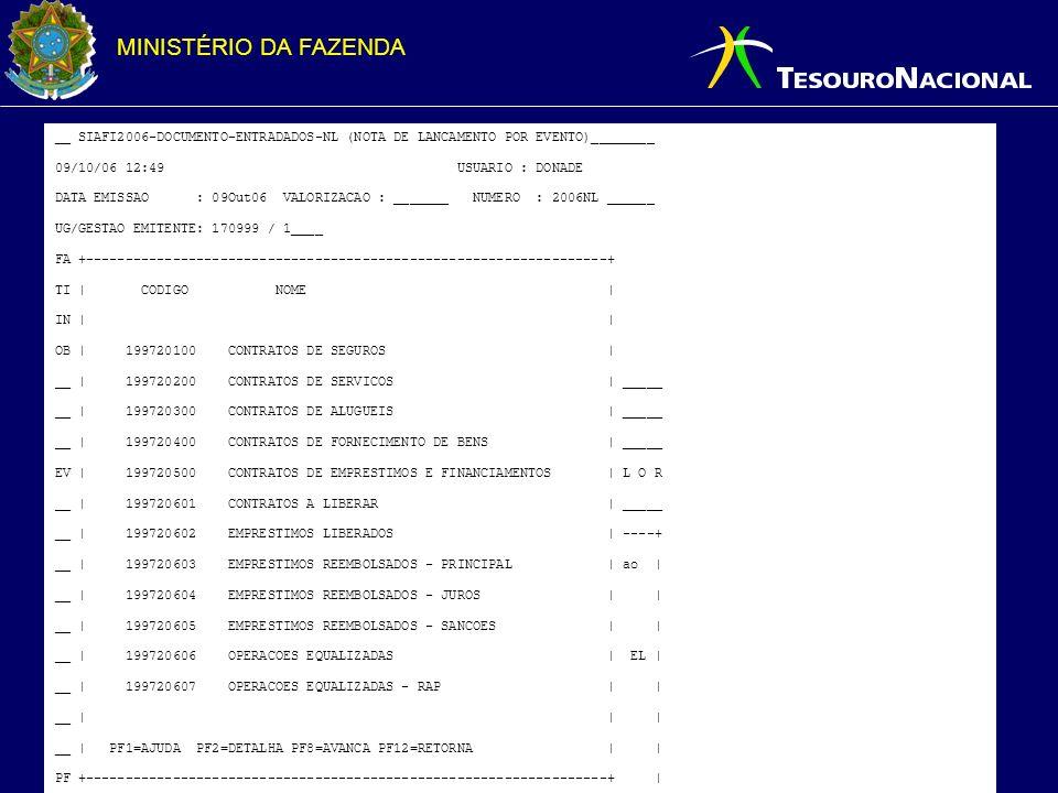 __ SIAFI2006-DOCUMENTO-ENTRADADOS-NL (NOTA DE LANCAMENTO POR EVENTO)________
