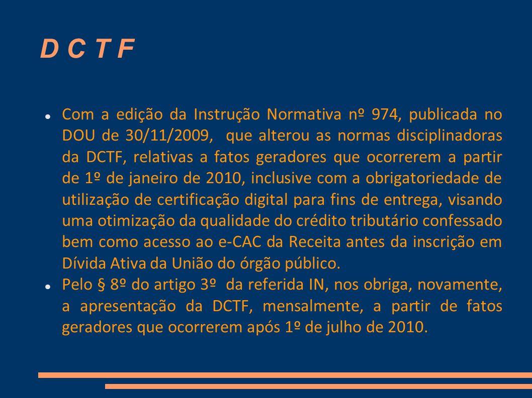 D C T F