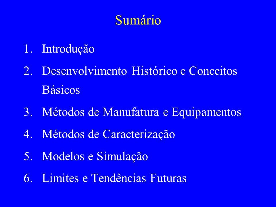 Sumário Introdução Desenvolvimento Histórico e Conceitos Básicos