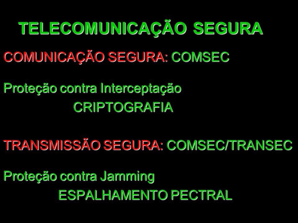TELECOMUNICAÇÃO SEGURA