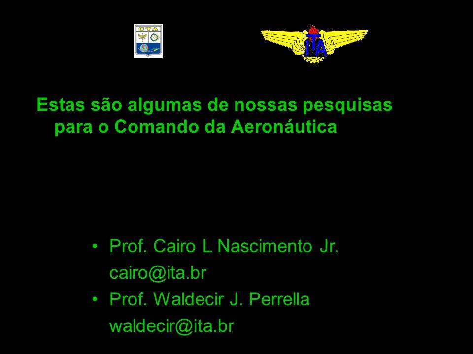 Estas são algumas de nossas pesquisas para o Comando da Aeronáutica