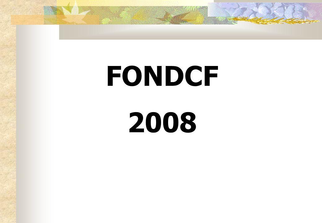 FONDCF 2008