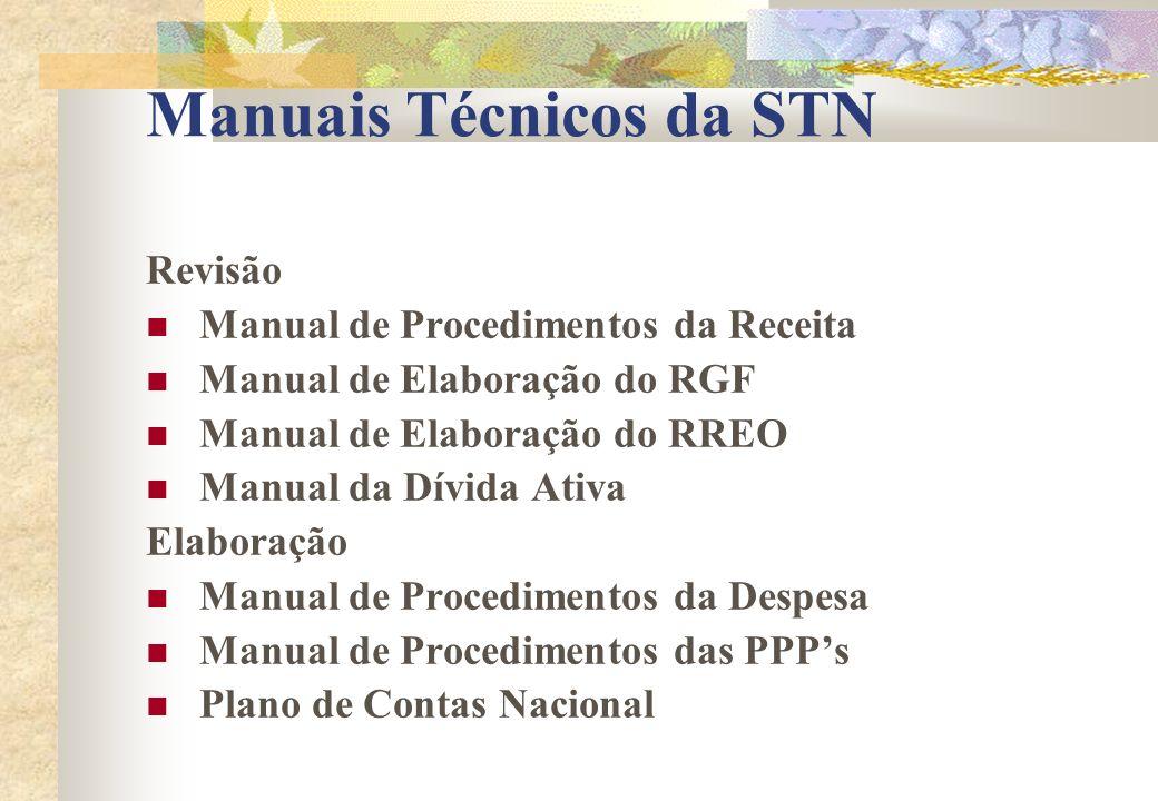 Manuais Técnicos da STN