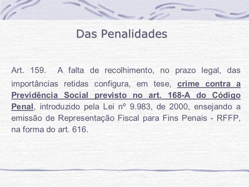 Das Penalidades