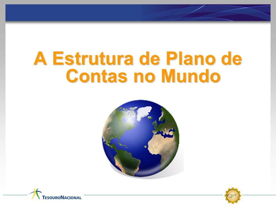 A Estrutura de Plano de Contas no Mundo