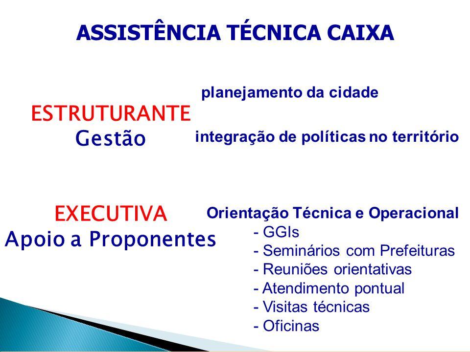 ASSISTÊNCIA TÉCNICA CAIXA