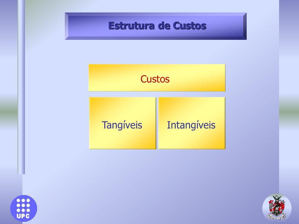 Estrutura de Custos Custos Tangíveis Intangíveis