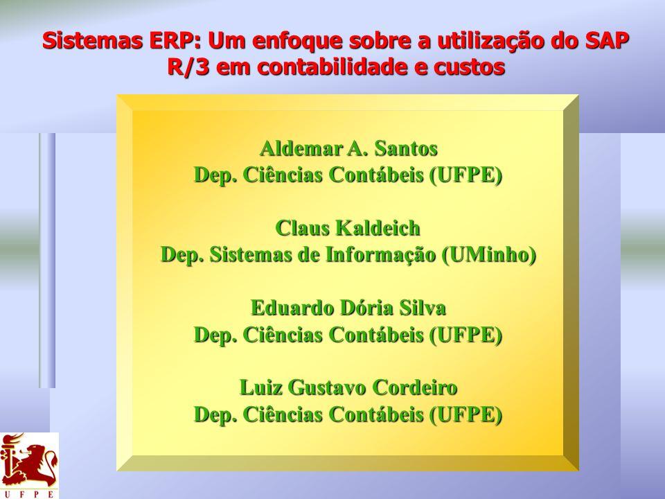 Dep. Ciências Contábeis (UFPE) Dep. Sistemas de Informação (UMinho)