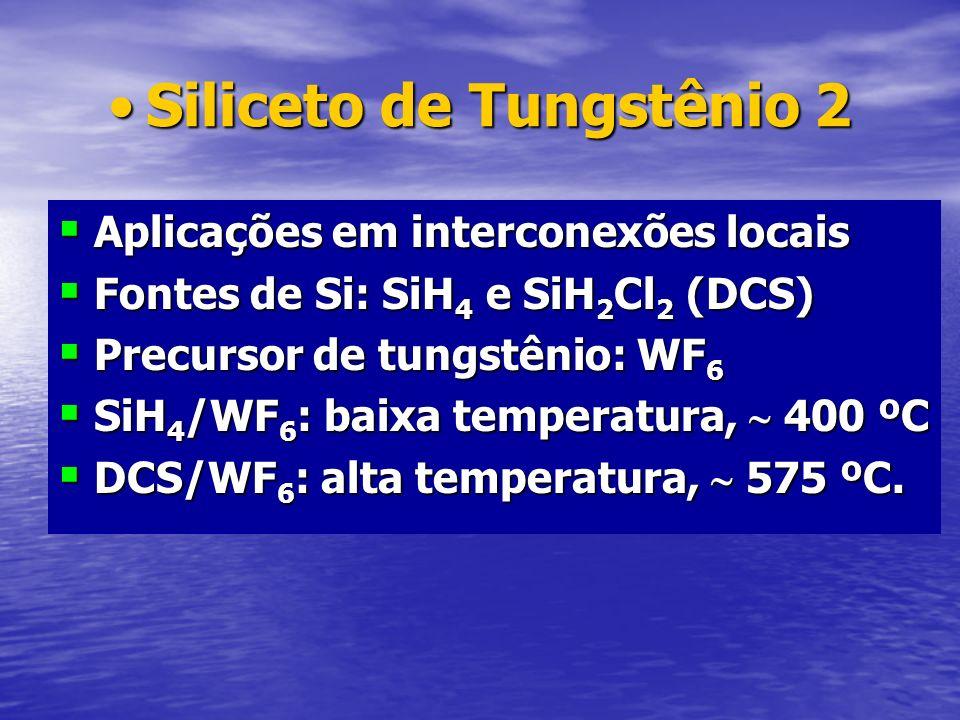 Siliceto de Tungstênio 2