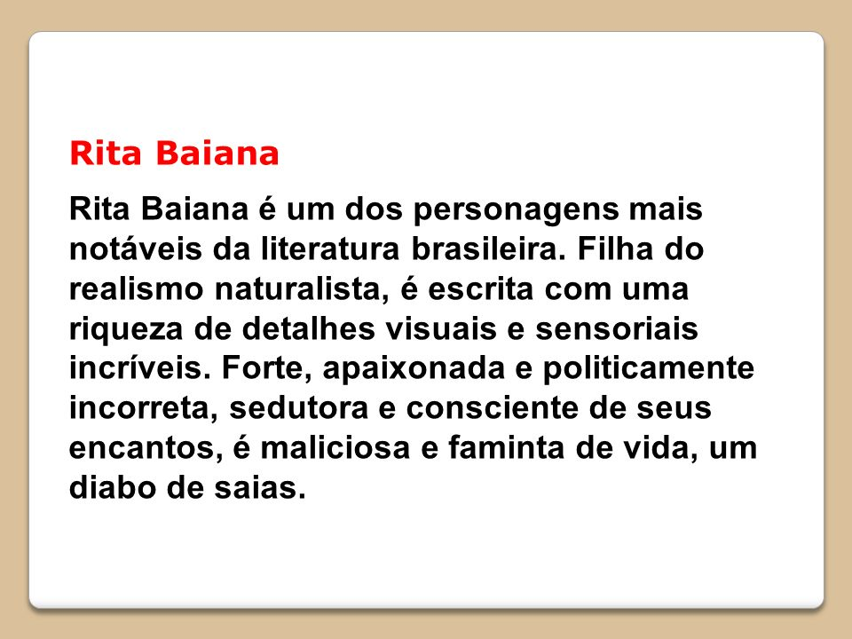 Rita Baiana