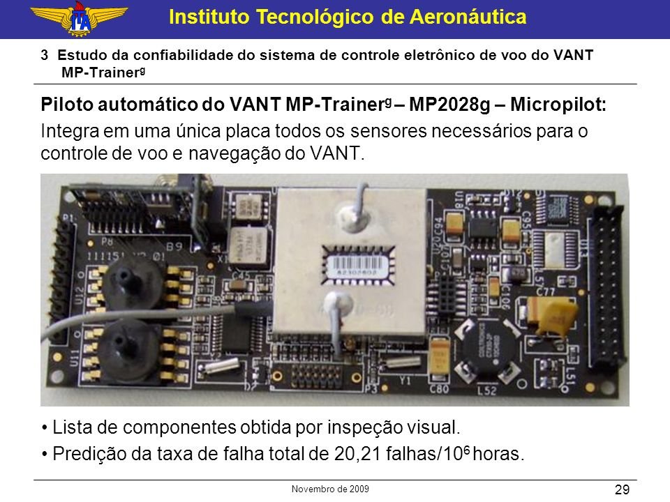 Piloto automático do VANT MP-Trainerg – MP2028g – Micropilot: