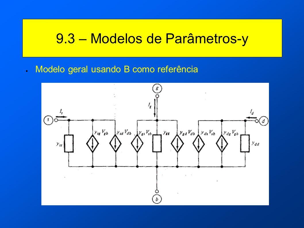 9.3 – Modelos de Parâmetros-y