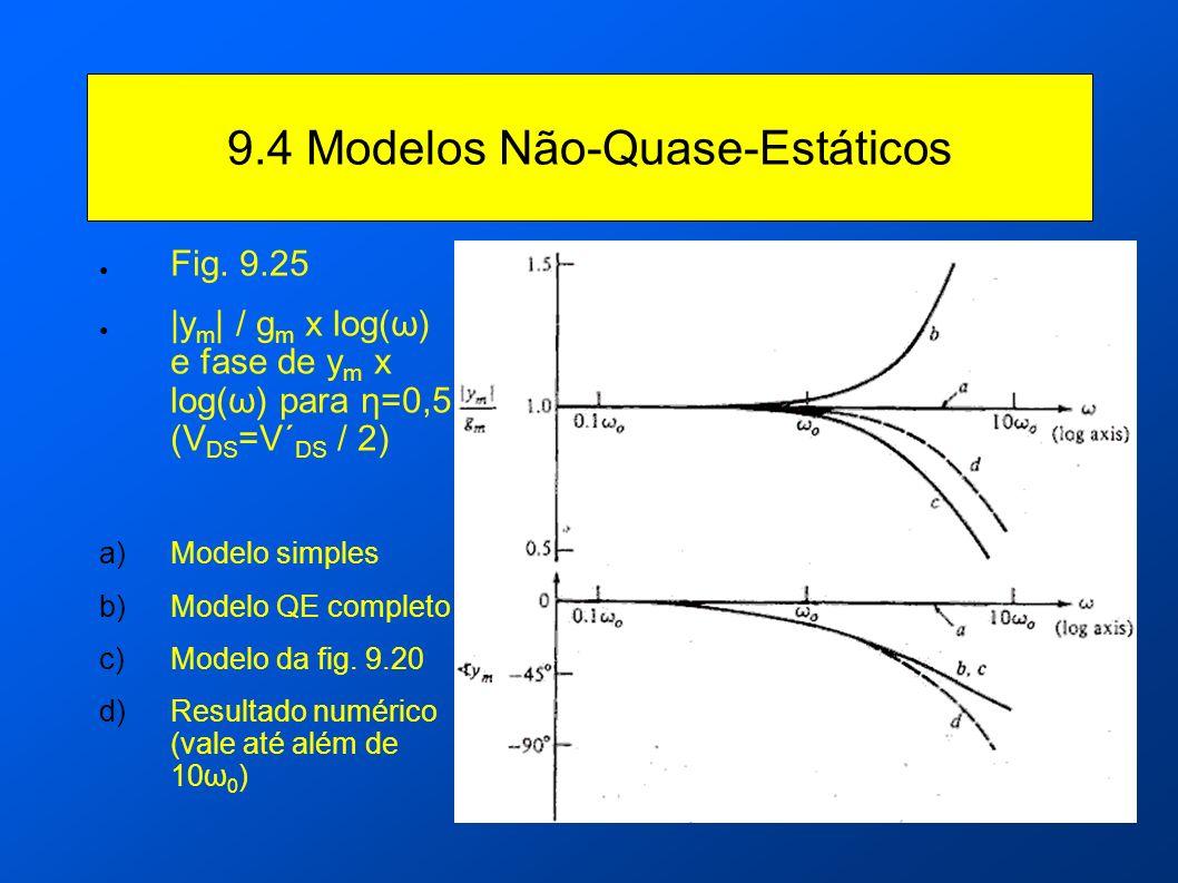 9.4 Modelos Não-Quase-Estáticos