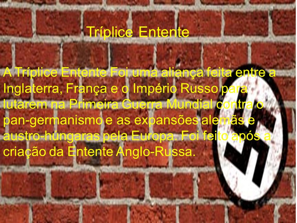 Tríplice Entente