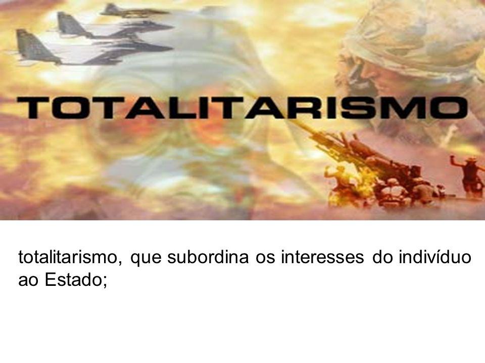 - nacionalismo exaltação do país italiano que coloca como país supremo em termos de desenvolvimento;