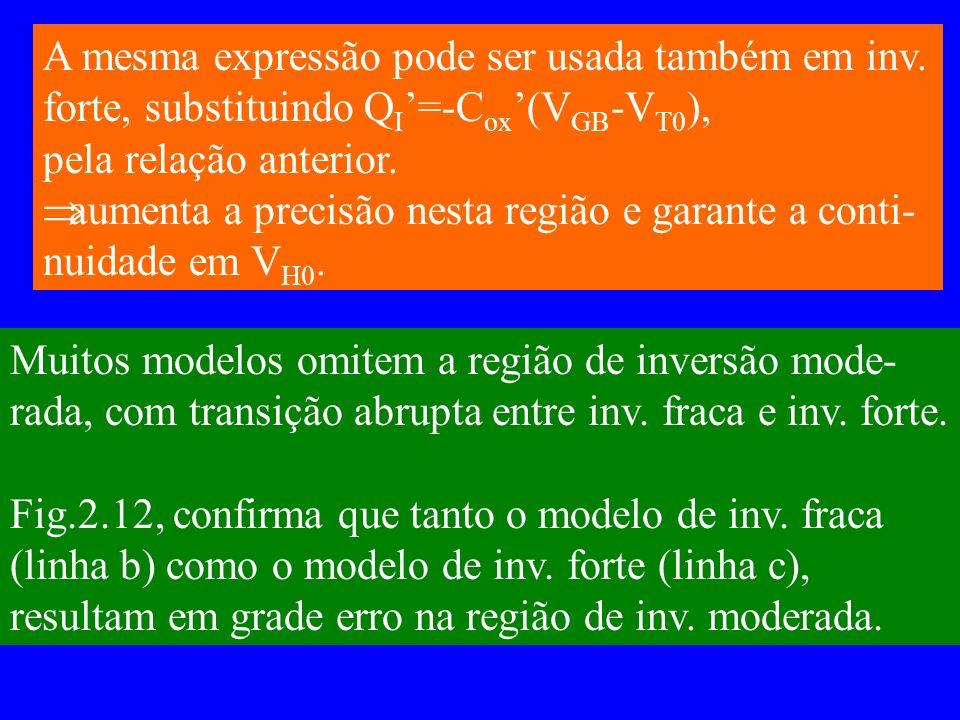 A mesma expressão pode ser usada também em inv.