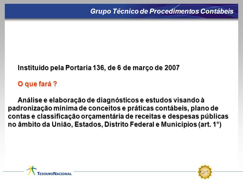 Grupo Técnico de Procedimentos Contábeis
