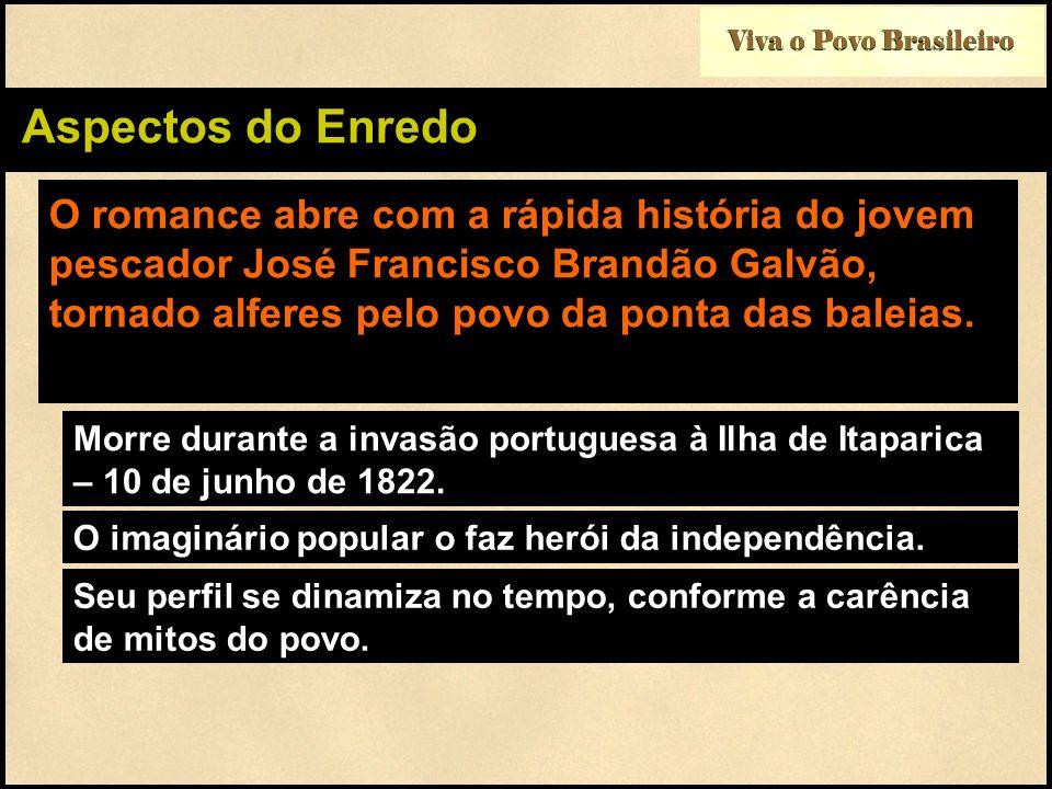 Viva o Povo Brasileiro Aspectos do Enredo.
