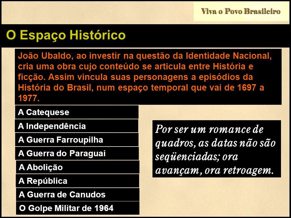 Viva o Povo Brasileiro O Espaço Histórico.