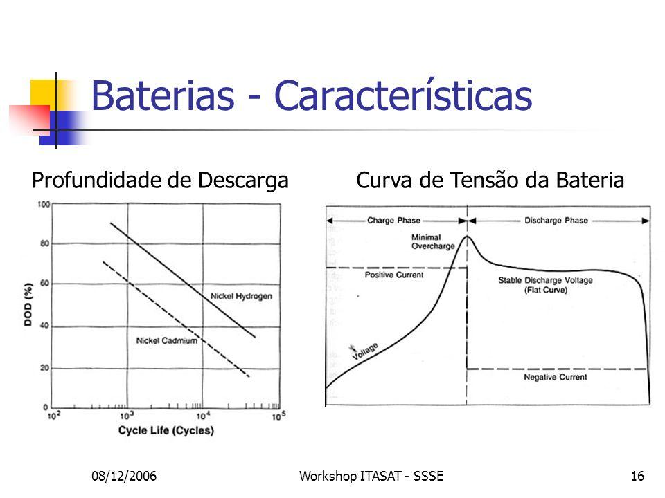 Baterias - Características