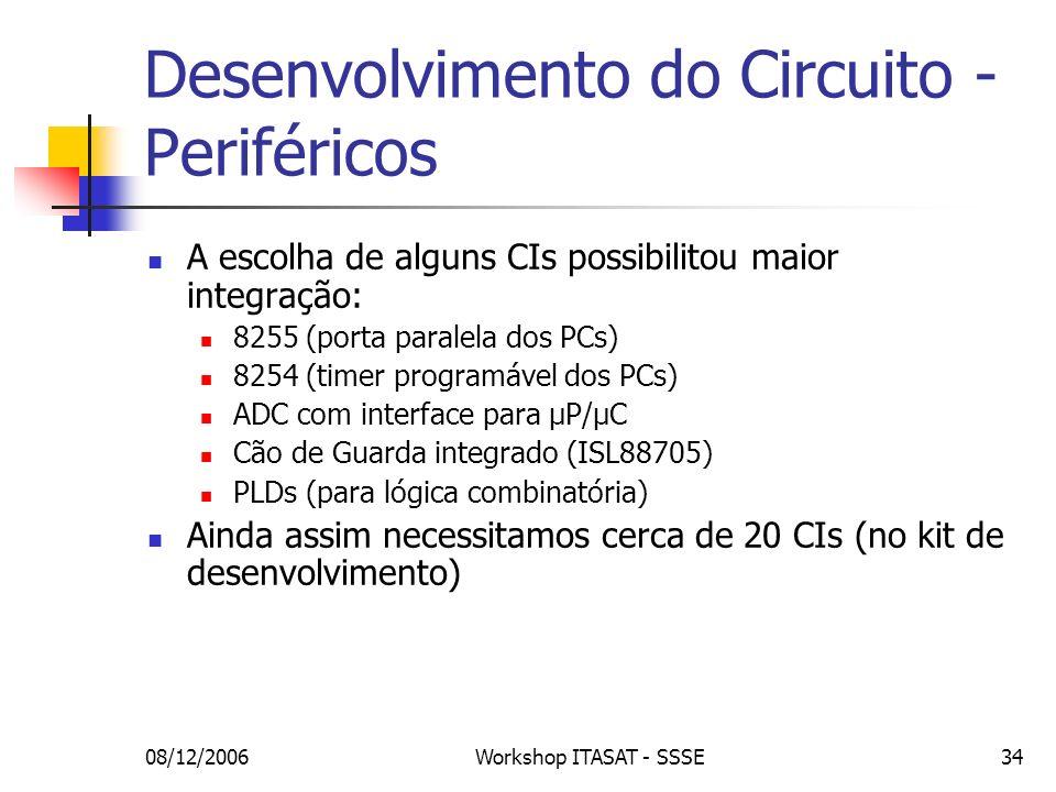 Desenvolvimento do Circuito - Periféricos