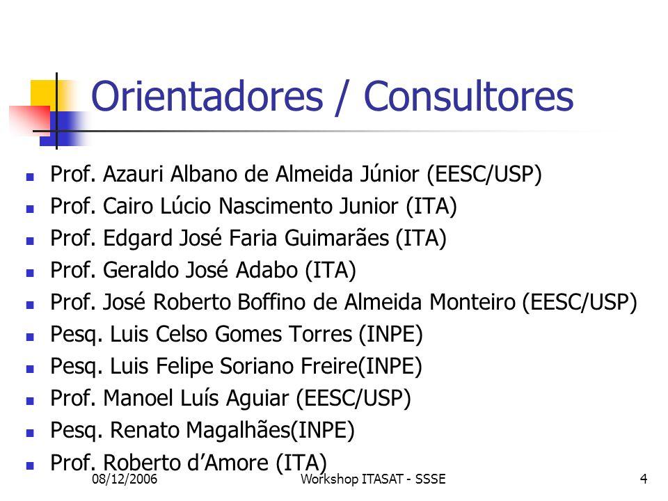 Orientadores / Consultores