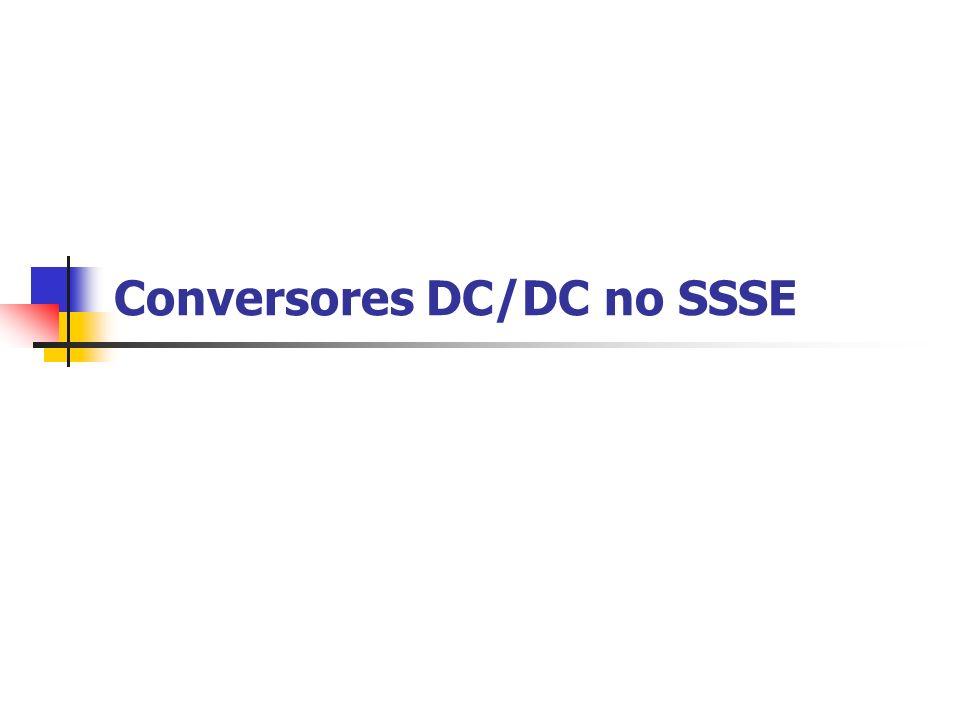 Conversores DC/DC no SSSE