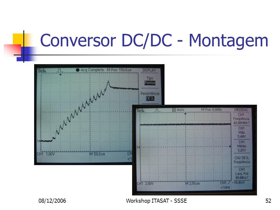 Conversor DC/DC - Montagem