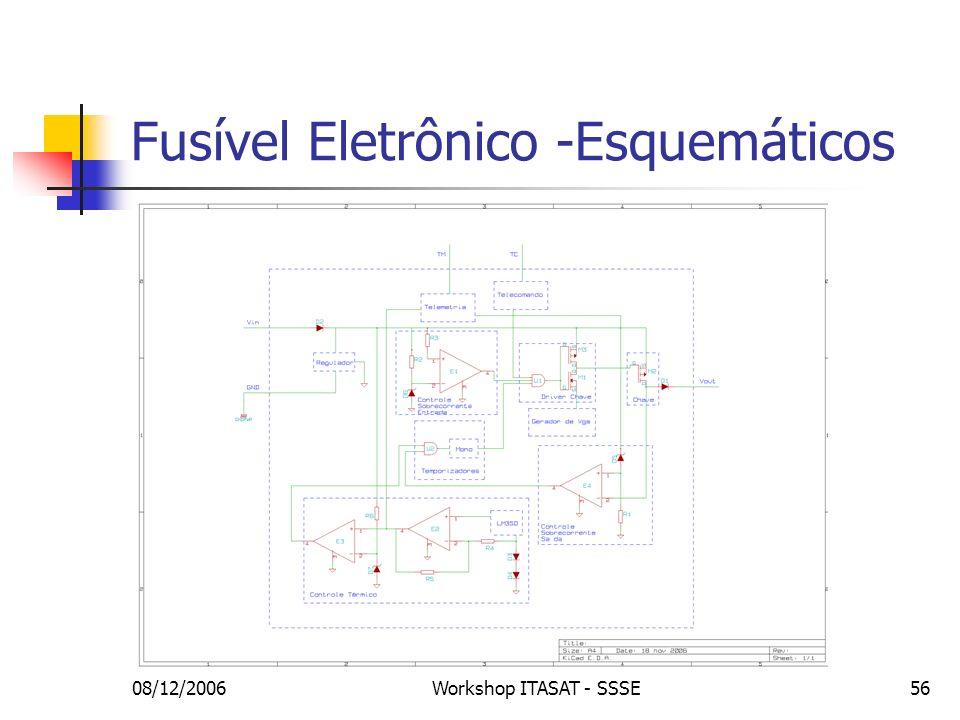 Fusível Eletrônico -Esquemáticos