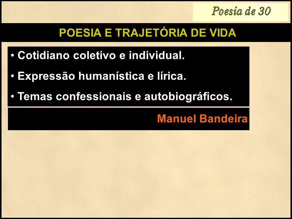 POESIA E TRAJETÓRIA DE VIDA