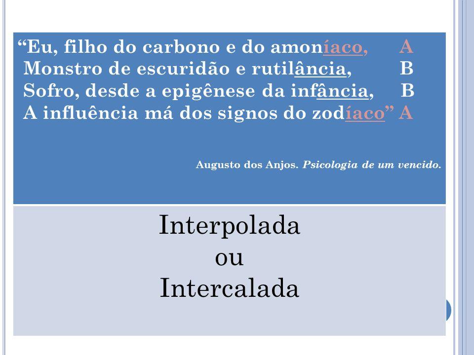 Interpolada ou Intercalada