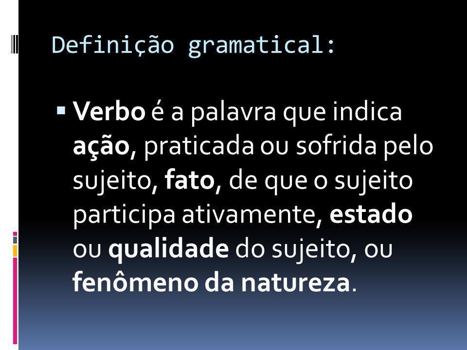 Definição gramatical:
