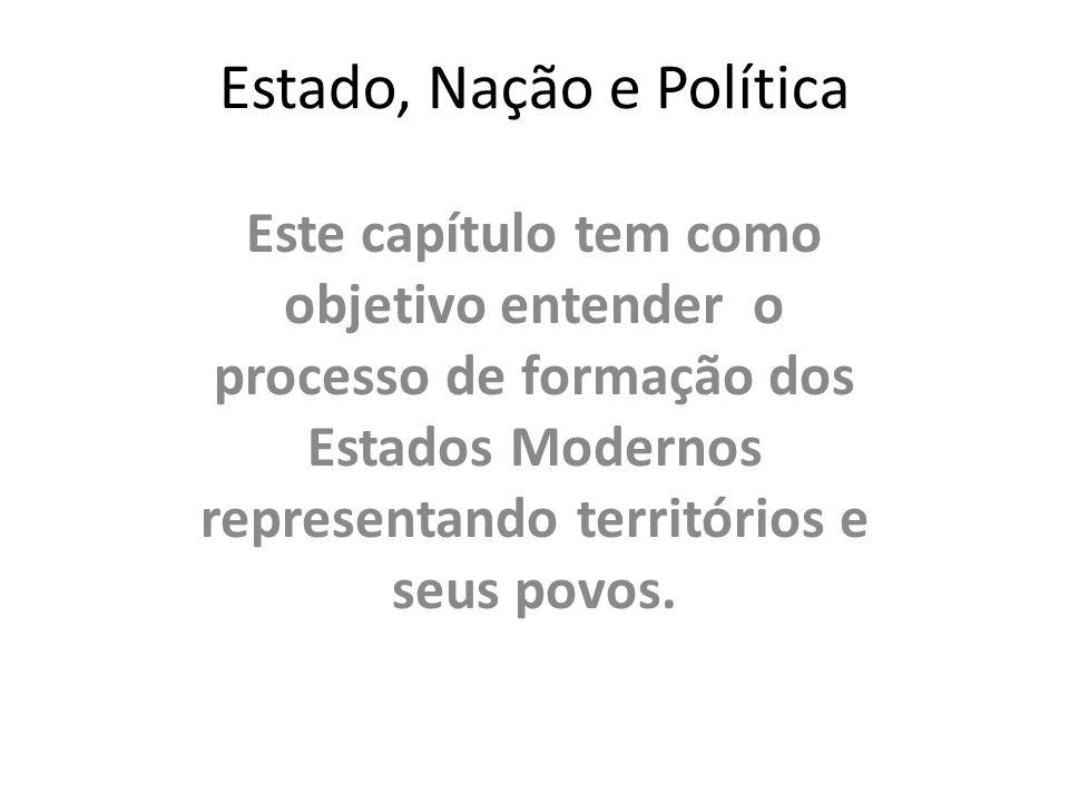 Estado, Nação e Política
