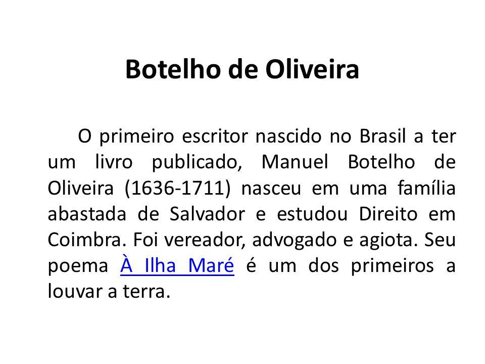 Botelho de Oliveira
