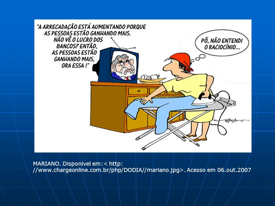 MARIANO. Disponível em:< http: //www. chargeonline. com