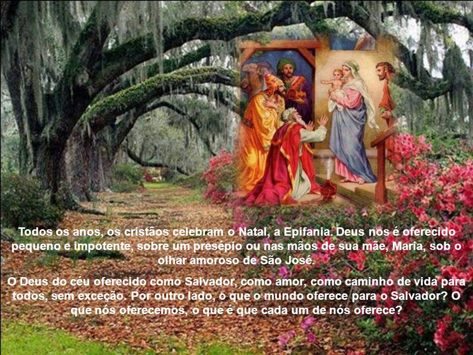 Todos os anos, os cristãos celebram o Natal, a Epifania