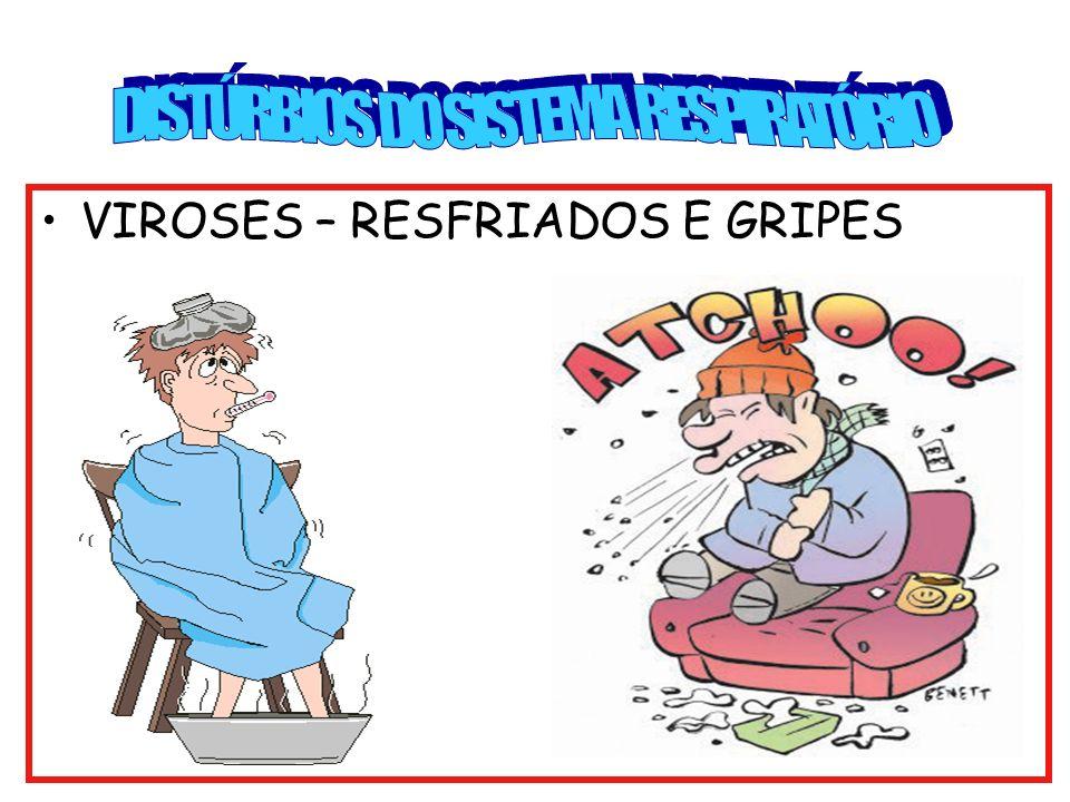 DISTÚRBIOS DO SISTEMA RESPIRATÓRIO