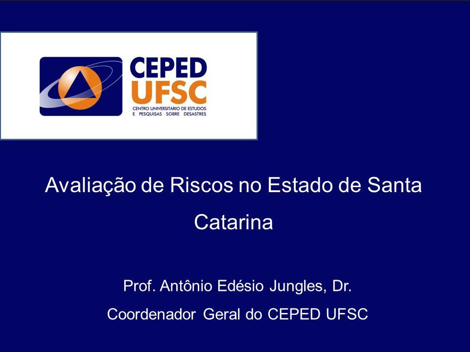 Avaliação de Riscos no Estado de Santa Catarina