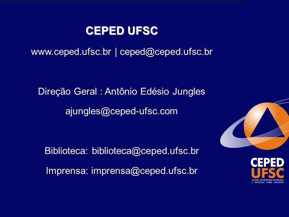 CEPED UFSC www.ceped.ufsc.br | ceped@ceped.ufsc.br